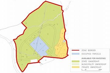 Shematski prikaz zone